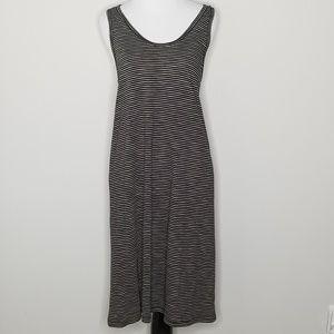 NWT Madewell Striped Sleeveless Tank Dress XL
